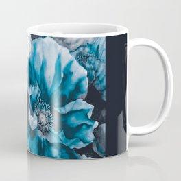 BLUE FLOWERS PAINTING - 180818/1 Coffee Mug