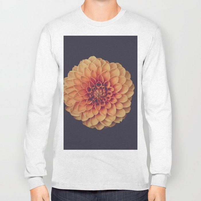 Yellow Flower Petals Long Sleeve T-shirt