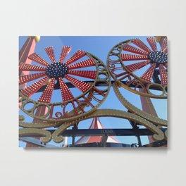 Luna Park Metal Print