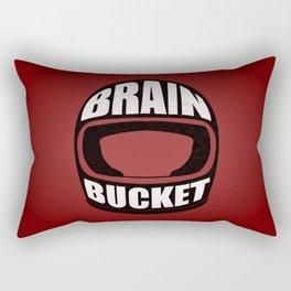 Brain bucket Rectangular Pillow