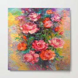Roses art Metal Print
