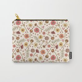 Key West Flowers Carry-All Pouch