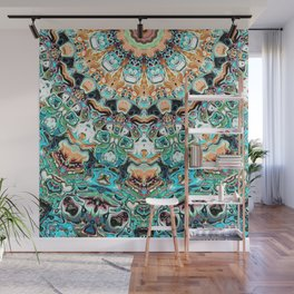 Abstract Colorful Pattern Wall Mural