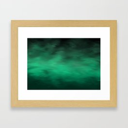 Green Atmosphere Framed Art Print
