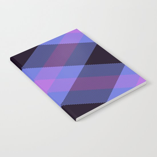 Tartan Pattern Notebook