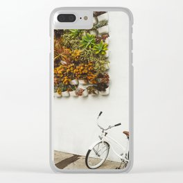 San Diego Sidewalk Clear iPhone Case