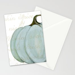 Cozy Fall things  Stationery Cards