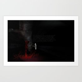 Meat me on the other side Art Print