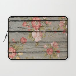 Rustic Floral Laptop Sleeve