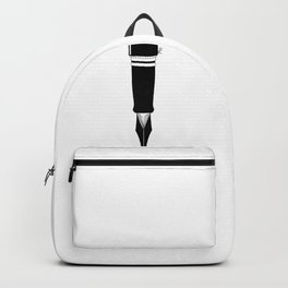 A good book is written alone Backpack