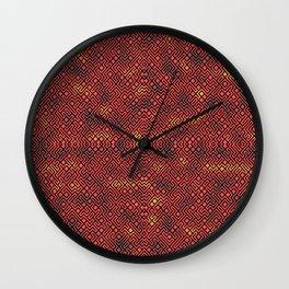 Colorful Intricate Maze Wall Clock