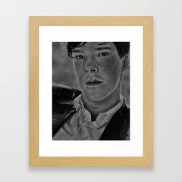 We are Sherlocked Framed Art Print