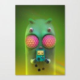 bug eys Canvas Print