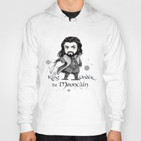 thorin Hoodies featuring Thorin Chibi by KuroCyou