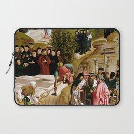Geertgen Tot sint Jans Legend of the Relics of St. John the Baptist Laptop Sleeve