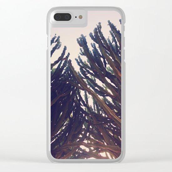 cactus76 Clear iPhone Case