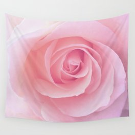 Flower | Pink Rose |  Photography | Nature | Spring | Summer Wall Tapestry