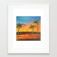 desert Framed Art Prints featuring Desert by ArtSchool