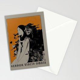 Terror Vincit Omnia Stationery Cards