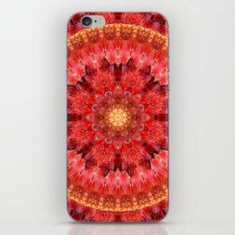 Crystal Fire Mandala iPhone Skin