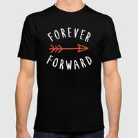 Forever Forward Mens Fitted Tee SMALL Black