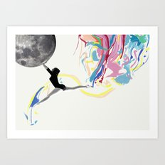 AFTERMOON Art Print