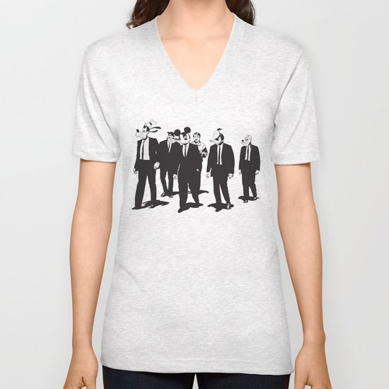 Walt's Protection Crew Unisex V-Neck