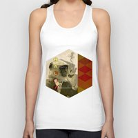 fez Tank Tops featuring hal by Rosa Picnic