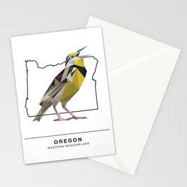 Oregon – Western Meadowlark Stationery Cards