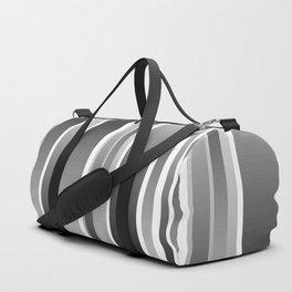 Color Black gray Duffle Bag