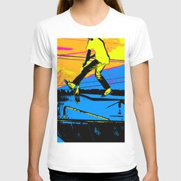 """Air Walking""  - Stunt Scooter T-shirt"
