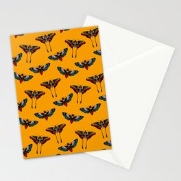 Butterfly - Death moth tattoo print  Stationery Cards