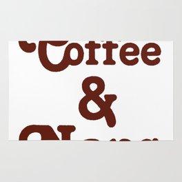 YOGA COFFEE AND NAPS T-SHIRT Rug