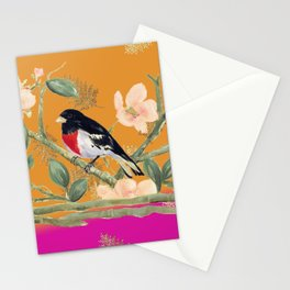 Birds Tango Mango Stationery Cards