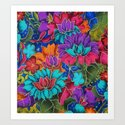 Colorful floral fantasy by catyarte