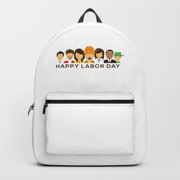 Happy Labor Day Backpack