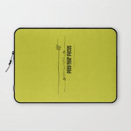 Feed Your Focus Laptop Sleeve