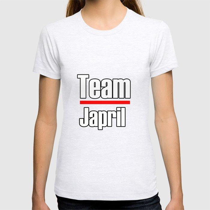 Team Japril- Greys Anatomy T-shirt by awesomenessx | Society6