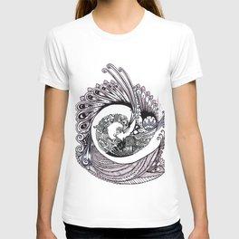 Peacock Spiral T-shirt