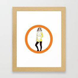 Baby K Framed Art Print