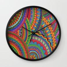 My brain happy Wall Clock
