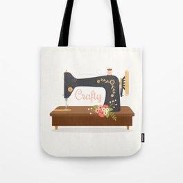 Sew Crafty Tote Bag