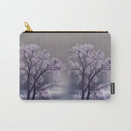 Frosty Scene - Inverted Art Series Carry-All Pouch