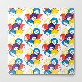 Hendrix Pattern Metal Print