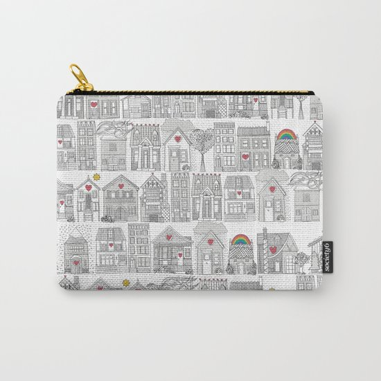 pencil weather love Carry-All Pouch