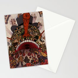 swallow frogs Stationery Cards