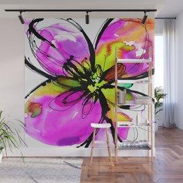 Ecstasy Bloom No.17e by Kathy Morton Stanion Wall Mural