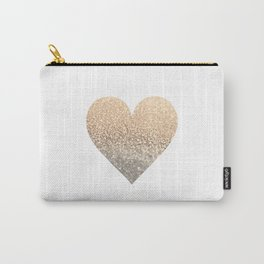 GOLD HEART Carry-All Pouch