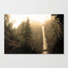 Multnomah Falls - Upper Falls Canvas Print