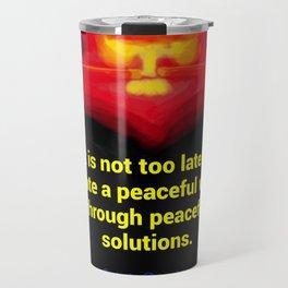 A Peaceful World Travel Mug